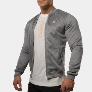THE ELEVATE BOMBER - GRAY