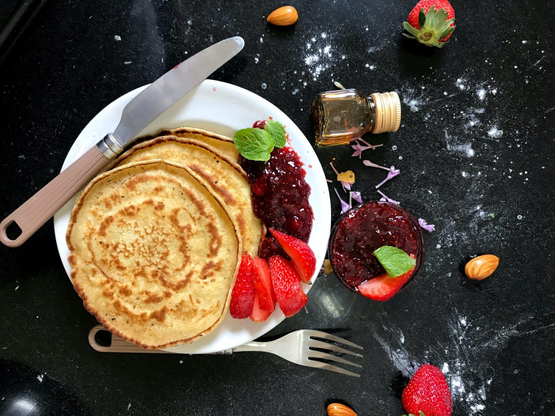 Fruity Protein Powder Pancake